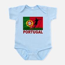 Portugal World Cup Soccer Infant Bodysuit