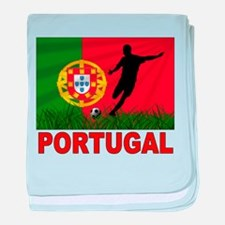 Portugal World Cup Soccer baby blanket