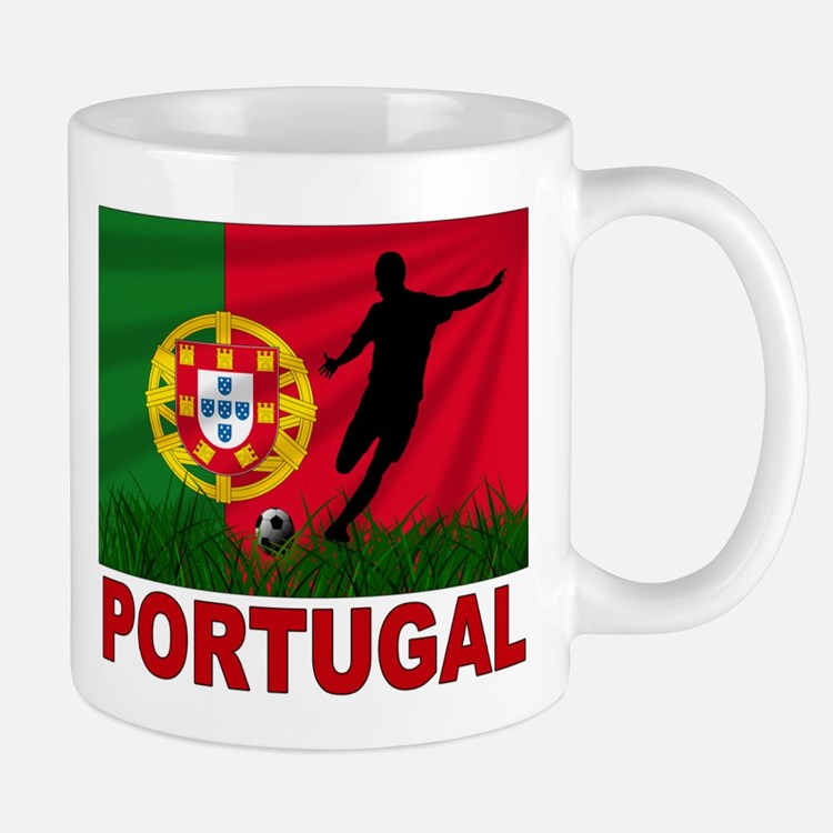 Portugal World Cup Soccer Mug