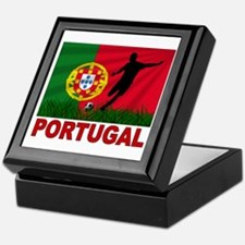 Portugal World Cup Soccer Keepsake Box
