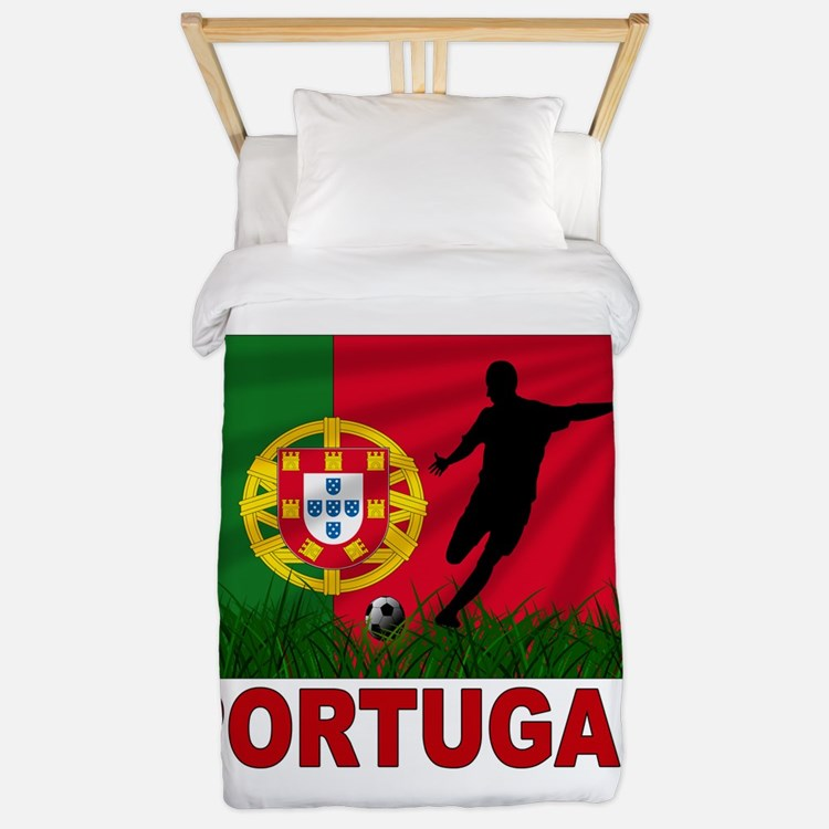Portugal World Cup Soccer Twin Duvet