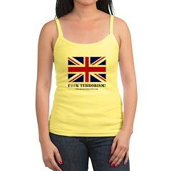 'F Terrorism UK Jr. Spaghetti Tank