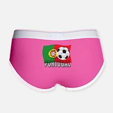 Portugal World Cup Soccer Women's Boy Brief