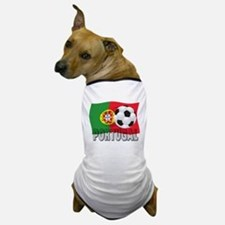 Portugal World Cup Soccer Dog T-Shirt