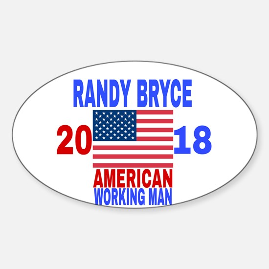 RANDY BRYCE 2018 Decal