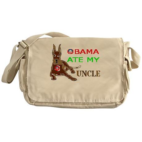 THE DOG EATER Messenger Bag