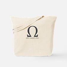 Ohm Sweet Ohm Tote Bag
