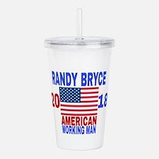 RANDY BRYCE 2018 Acrylic Double-wall Tumbler