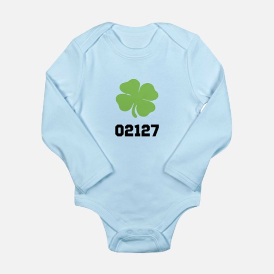 Southie 02127 Long Sleeve Infant Bodysuit