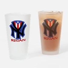 ny.png Drinking Glass