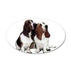 Basset Hounds Wall Decal