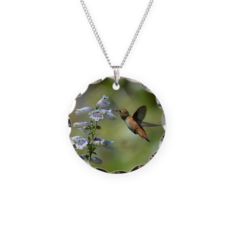 Hummingbird 4851 - Necklace Circle Charm