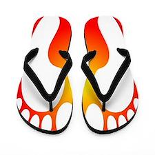 ff foot orange.PNG Flip Flops