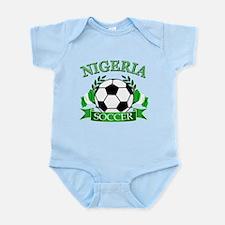 Nigeria Football Infant Bodysuit