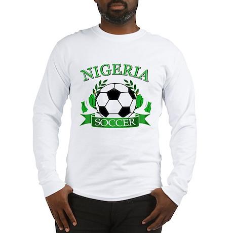 Nigeria Football Long Sleeve T-Shirt