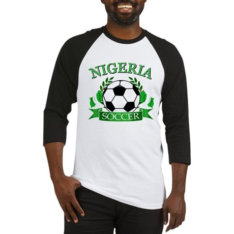 Nigeria Football Baseball Jersey