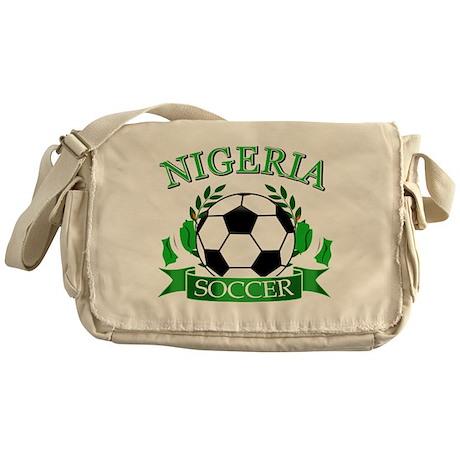 Nigeria Football Messenger Bag