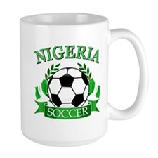 Nigeria Football Mug