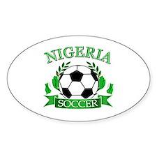 Nigeria Football Decal