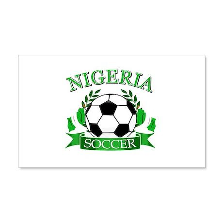 Nigeria Football 20x12 Wall Decal