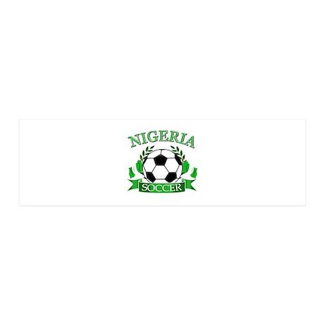 Nigeria Football 20x6 Wall Decal