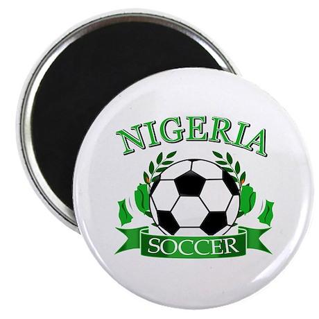 Nigeria Football Magnet
