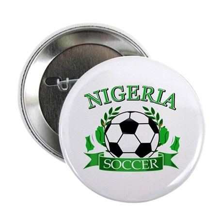 "Nigeria Football 2.25"" Button (100 pack)"