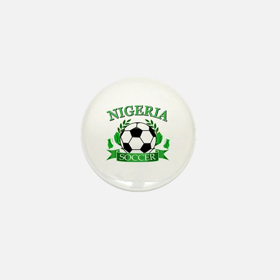 Nigeria Football Mini Button