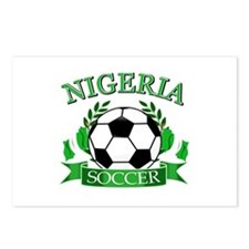 Nigeria Football Postcards (Package of 8)