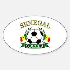 Senegal Football Decal