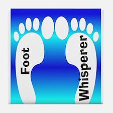 foot whisperer 3.PNG Tile Coaster