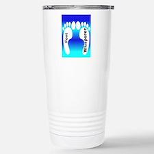 foot whisperer 3.PNG Stainless Steel Travel Mug