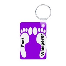 foot whisperer.PNG Keychains