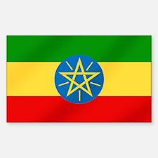 Ethiopian Flag Decal