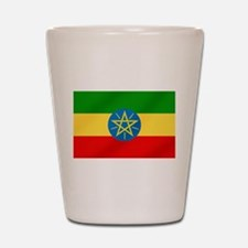 Ethiopian Flag Shot Glass