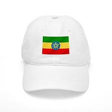 Ethiopian Flag Baseball Cap