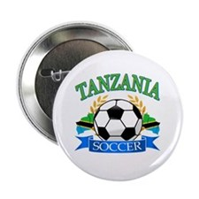 "Tanzania Football 2.25"" Button"