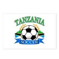 Tanzania Football Postcards (Package of 8)