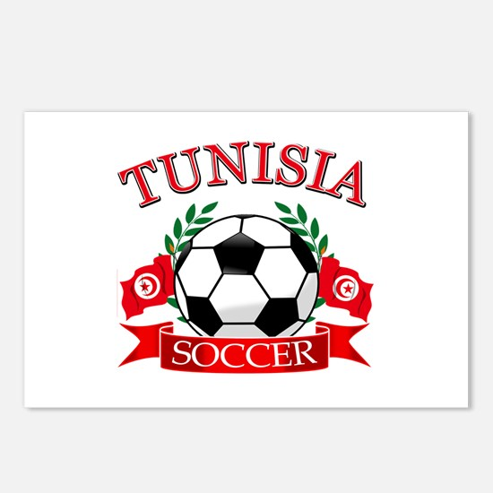 Tunisia Football Postcards (Package of 8)