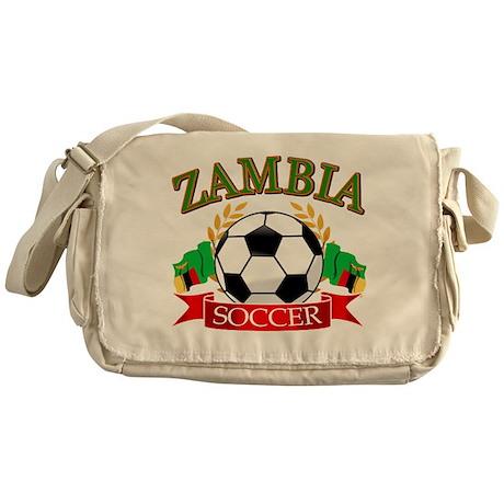 Zambia Football Messenger Bag