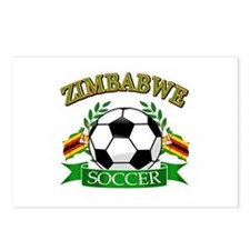 Zimbabwe Football Postcards (Package of 8)