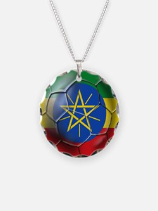 Ethiopia Football Necklace