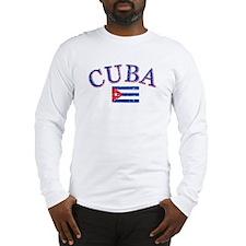 Cuba Football Long Sleeve T-Shirt