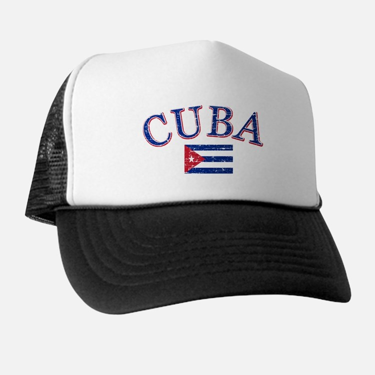 Cuba Football Trucker Hat