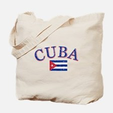 Cuba Football Tote Bag