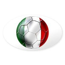 Italy Italia Football Decal