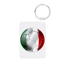 Italy Italia Football Keychains