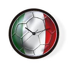Italy Italia Football Wall Clock