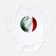 Italy Italia Football Long Sleeve Infant Bodysuit