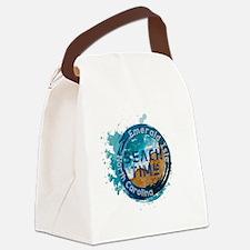 Unique Sun sand Canvas Lunch Bag